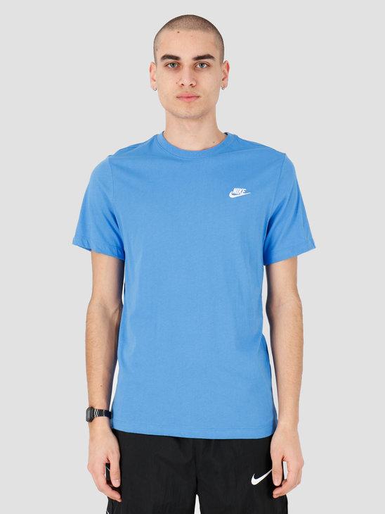 Nike NSW Club T-shirt Pacific Blue White AR4997-402