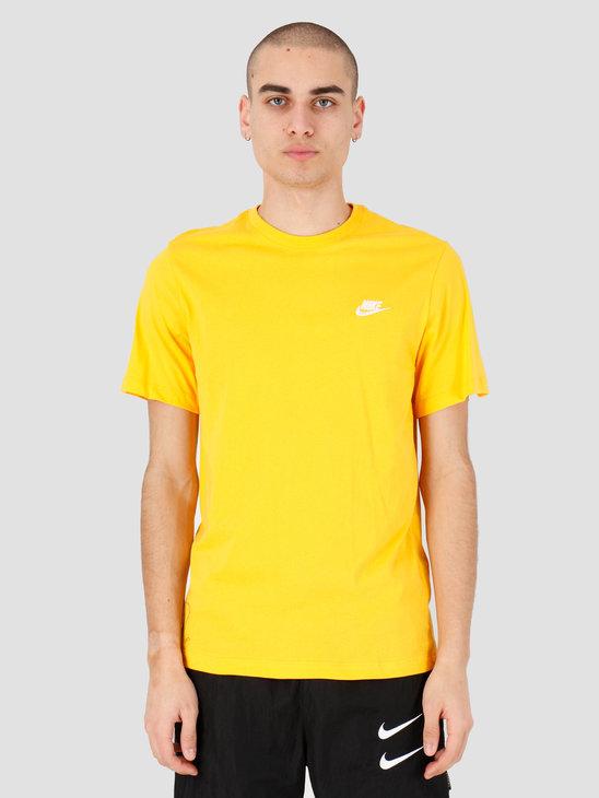 Nike NSW Club T-shirt University Gold White AR4997-739