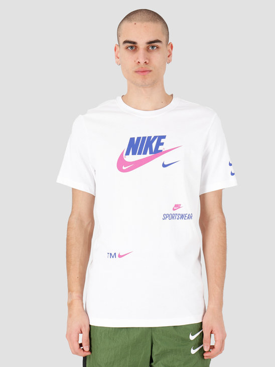 Nike NSW Pack 2 T-shirt 2 White CU0078-100