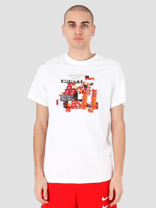 Nike NSW T-shirt Snkr Cltr 7 White CK2661-100