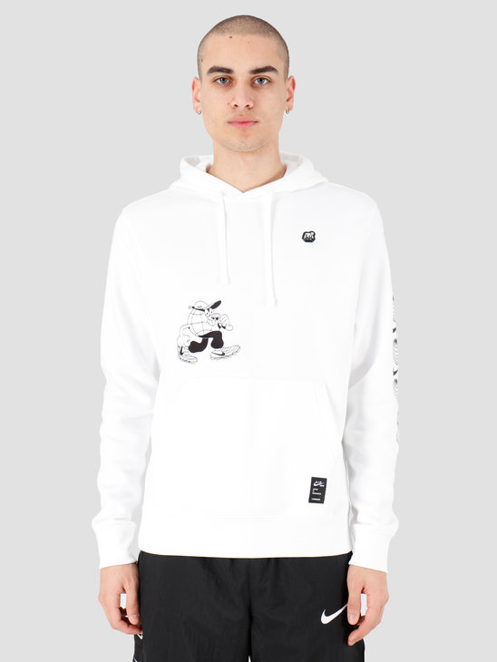 Nike NSW Bb Fleece Po Hoodie Ssnl 3 White CK2991-100