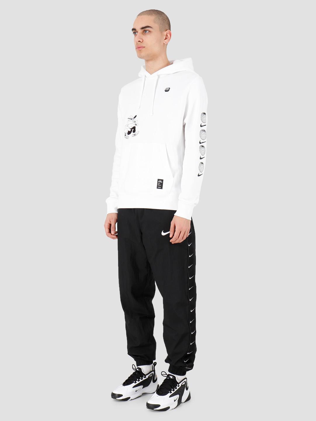 Nike Nike NSW Bb Fleece Po Hoodie Ssnl 3 White CK2991-100