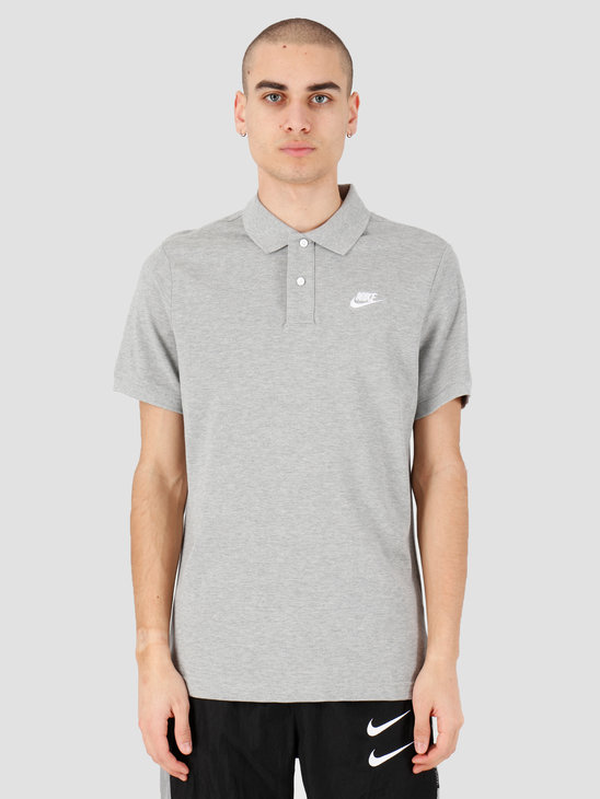 Nike NSW Ce Polo Matchup Pq Dk Grey Heather White CJ4456-063