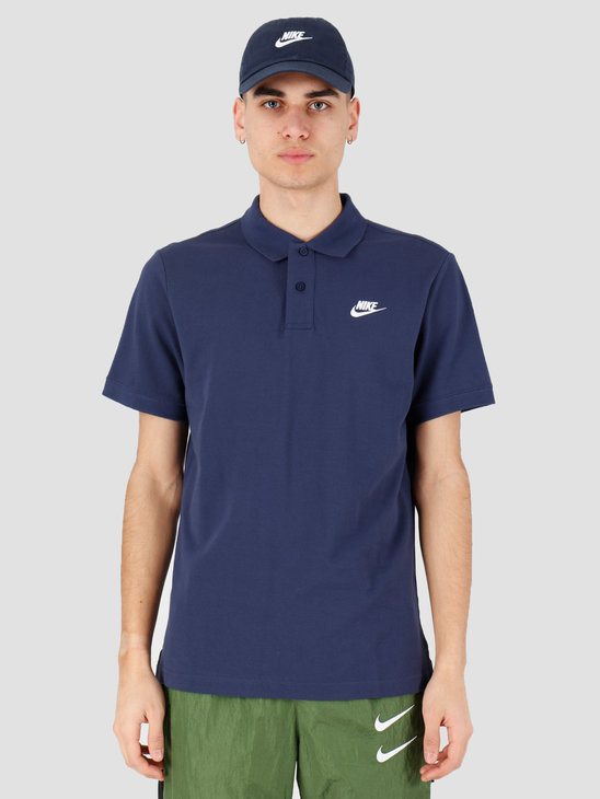 Nike NSW Ce Polo Matchup Pq Midnight Navy White CJ4456-410