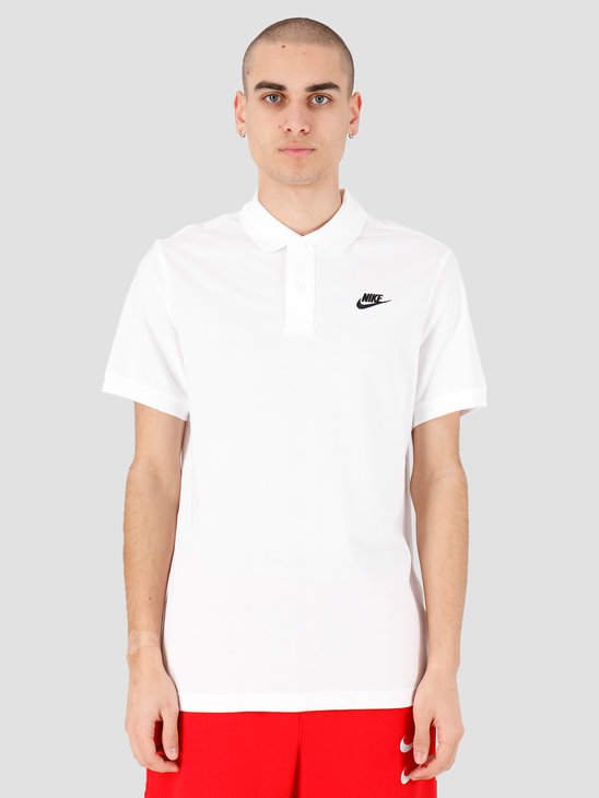 Nike NSW Ce Polo Matchup Pq White Black CJ4456-100