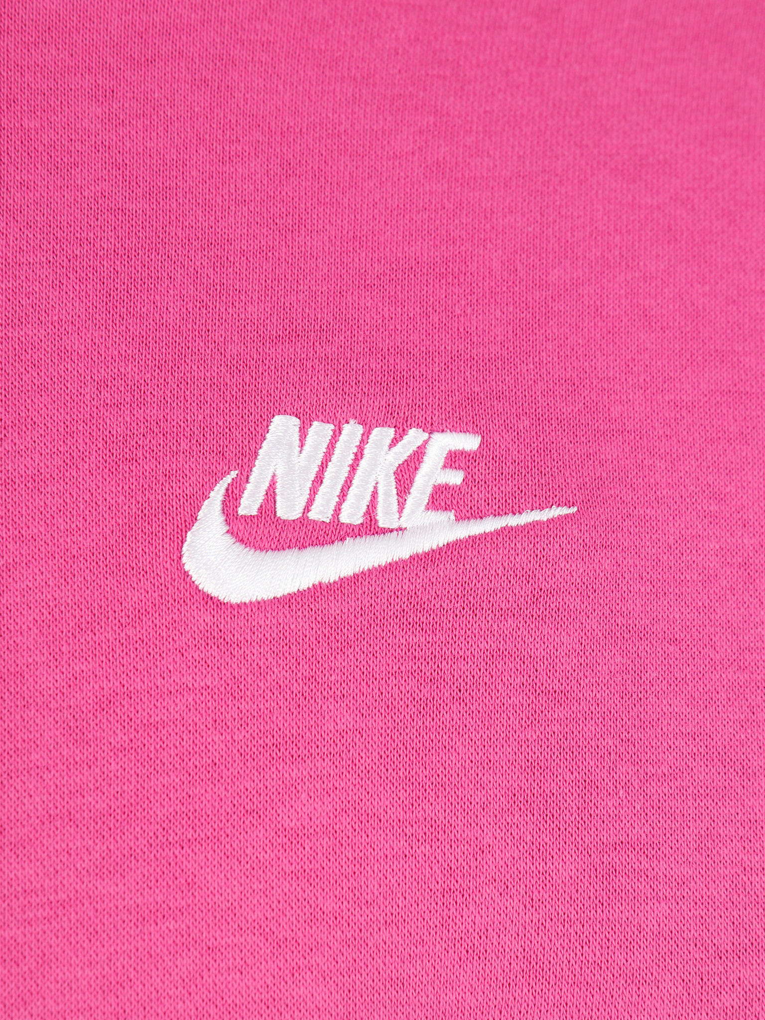 Nike Nike NSW Club Hoodie Po Bb Active Fuchsia Cosmic Fuchsia White BV2654-623