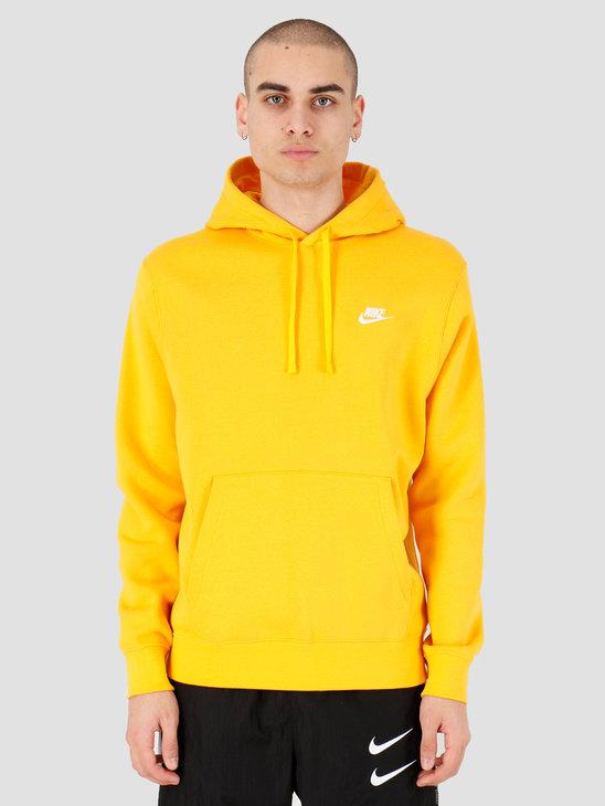 Nike NSW Club Hoodie Po Bb University Gold University Gold White BV2654-739