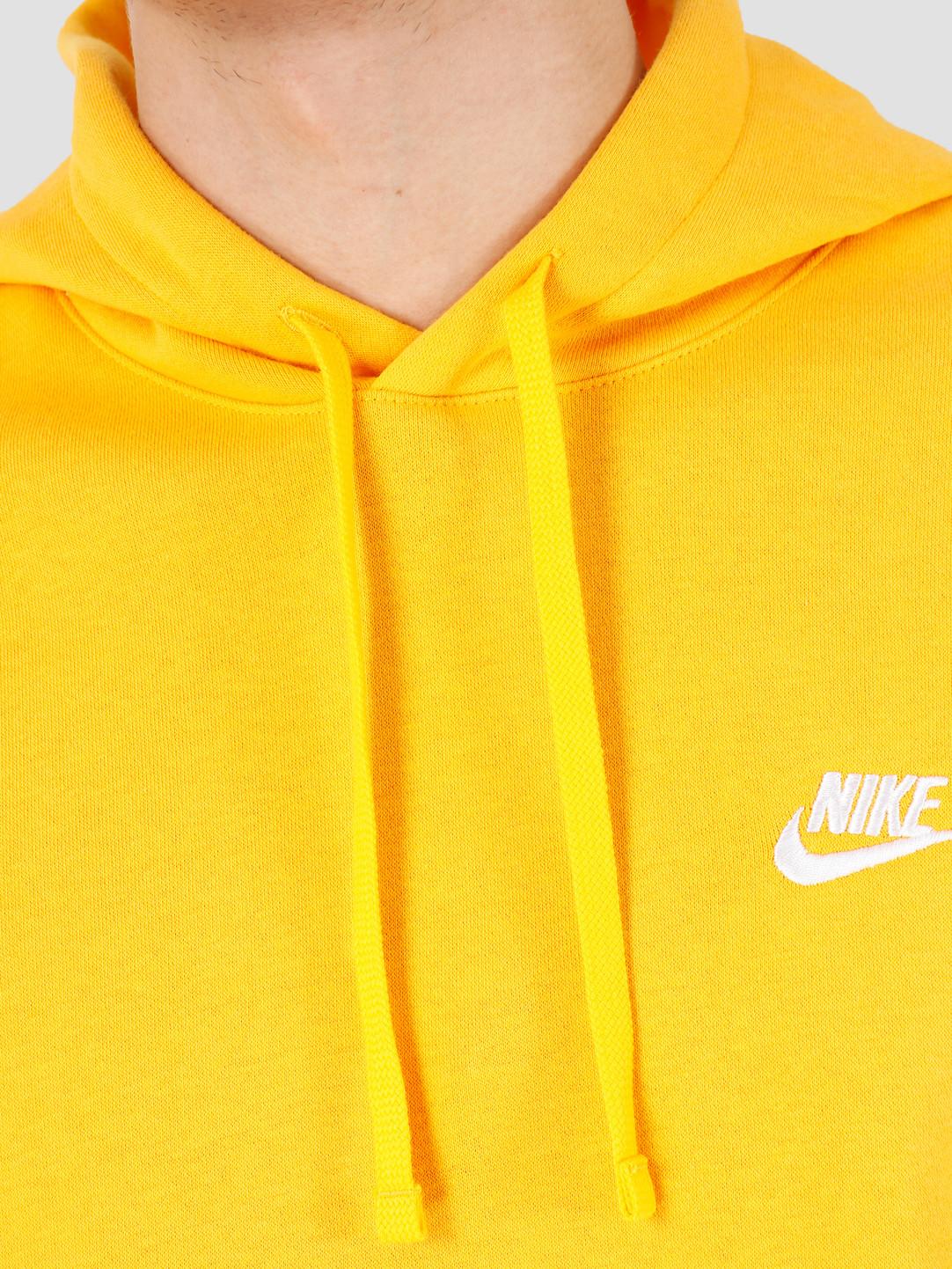 Nike Nike NSW Club Hoodie Po Bb University Gold University Gold White BV2654-739