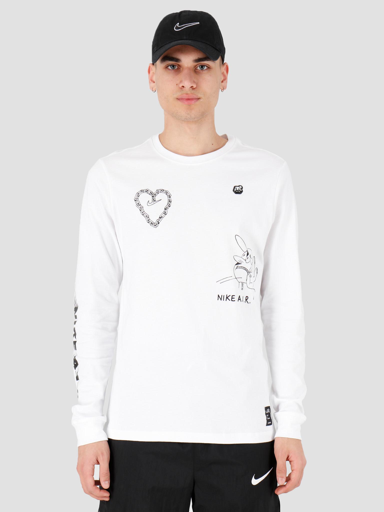 Nike Nike NSW Longsleeve T-shirt Ssnl 2 White CK2983-100