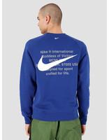 Nike Nike NSW Swoosh Crewneck Bb Deep Royal Blue White CJ4865-455