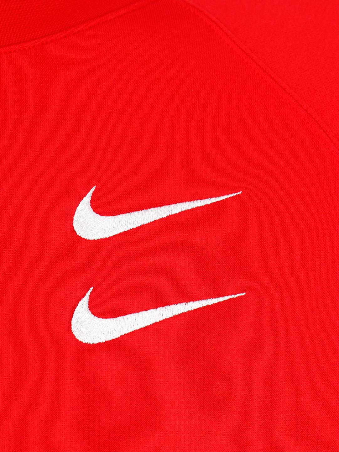 Nike Nike NSW Swoosh Crewneck Bb University Red White CJ4865-657