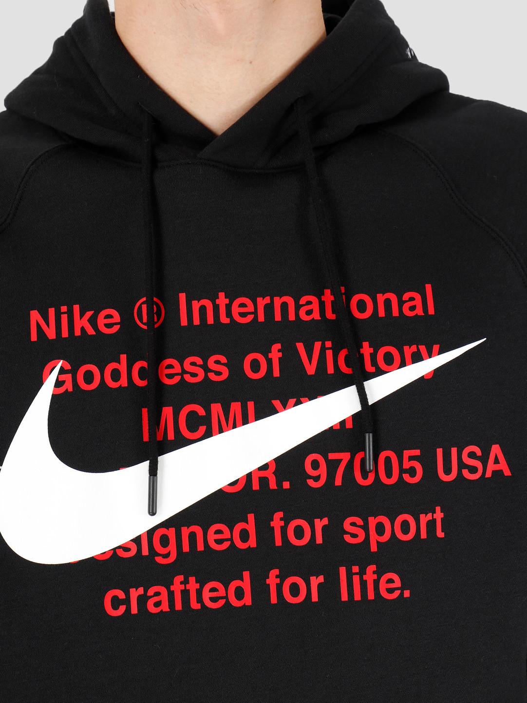 Nike Nike NSW Swoosh Hoodie Po Bb Black White CJ4861-010