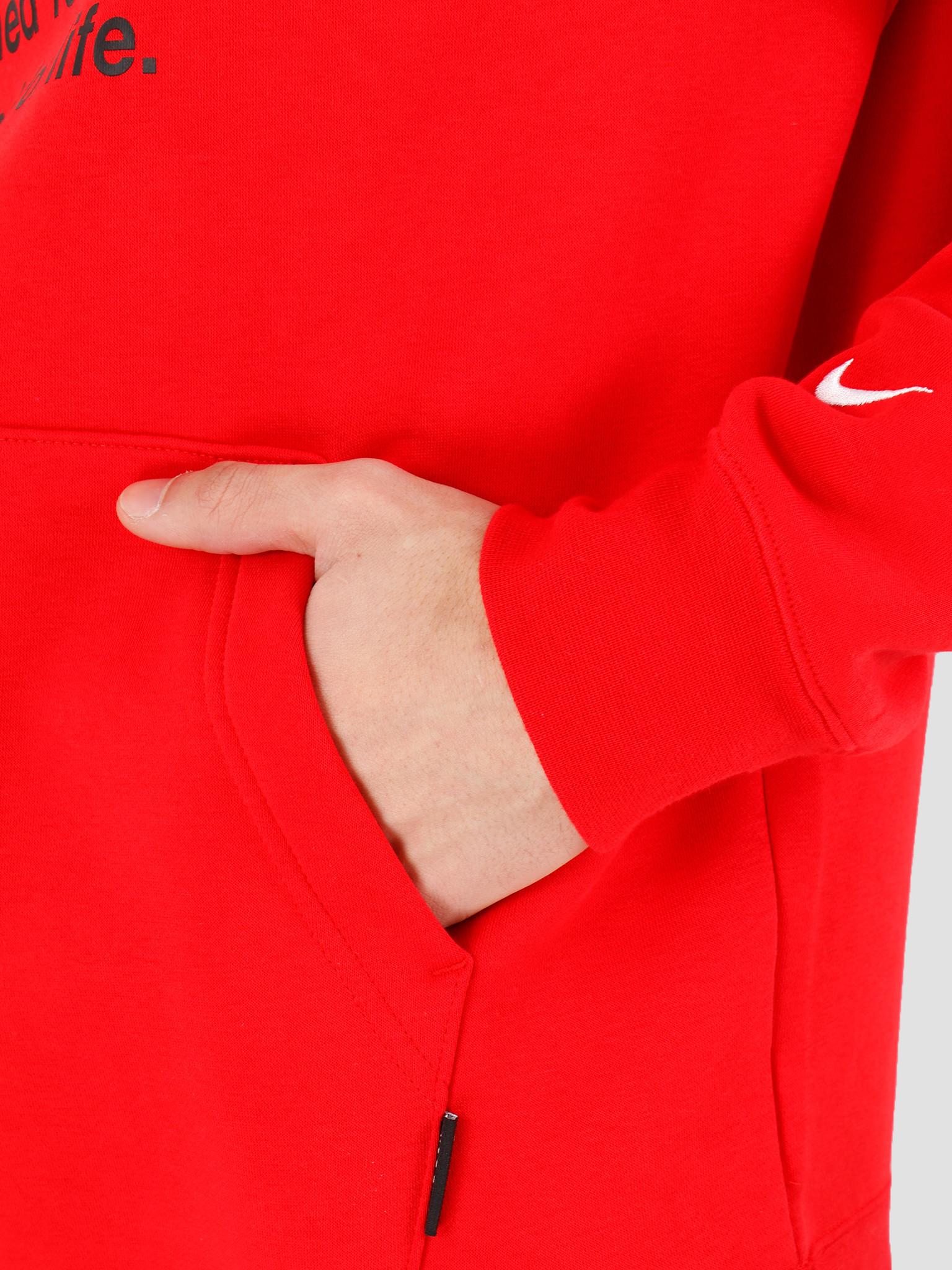Nike Nike NSW Swoosh Hoodie Po Bb University Red White CJ4861-657