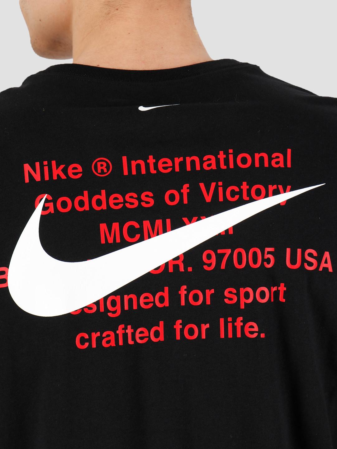 Nike Nike NSW Swoosh Longsleeve T-shirt Black CK2259-010