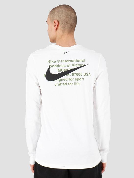 Nike NSW Swoosh Longsleeve T-shirt White CK2259-100
