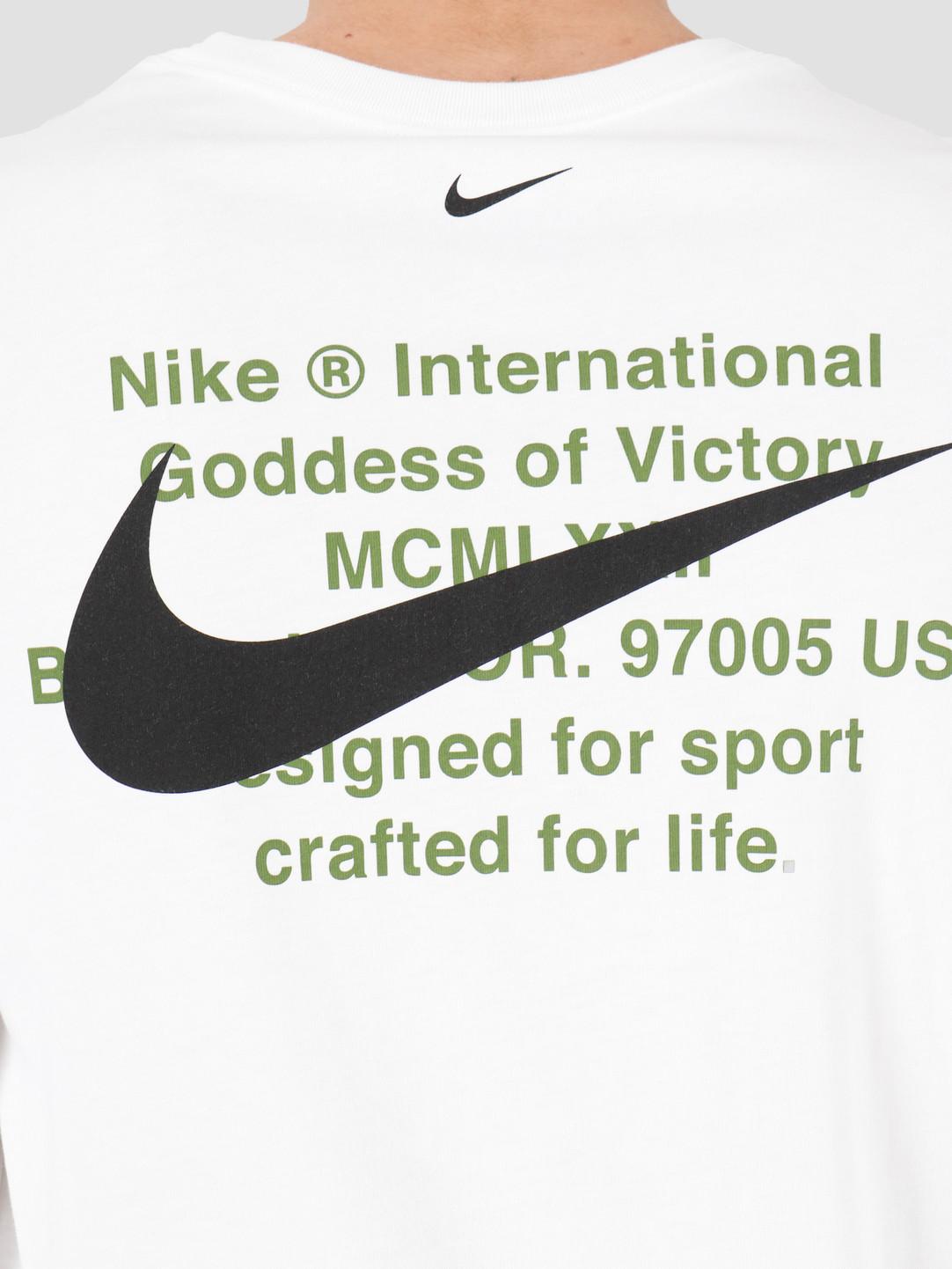 Nike Nike NSW Swoosh Longsleeve T-shirt White CK2259-100