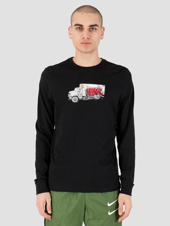 Nike SB T-shirt Longsleeve Box Truck Black CD2073-010