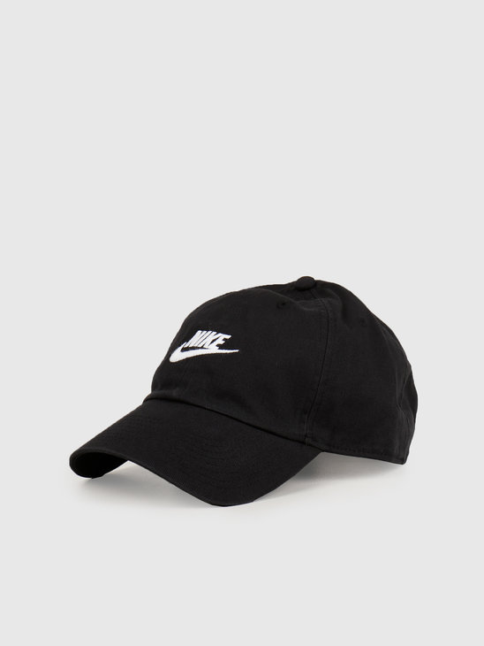 Nike NSW H86 Cap Black Black White 913011-010