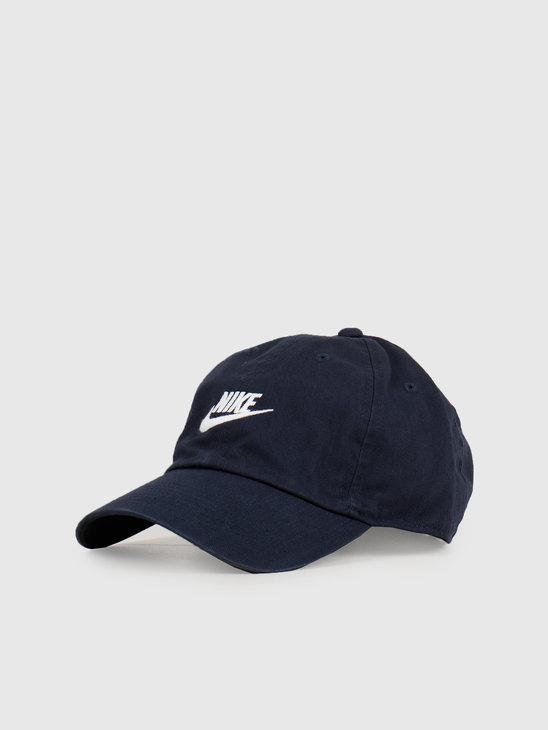Nike  NSW H86 Cap Obsidian  Obsidian  White 913011-451
