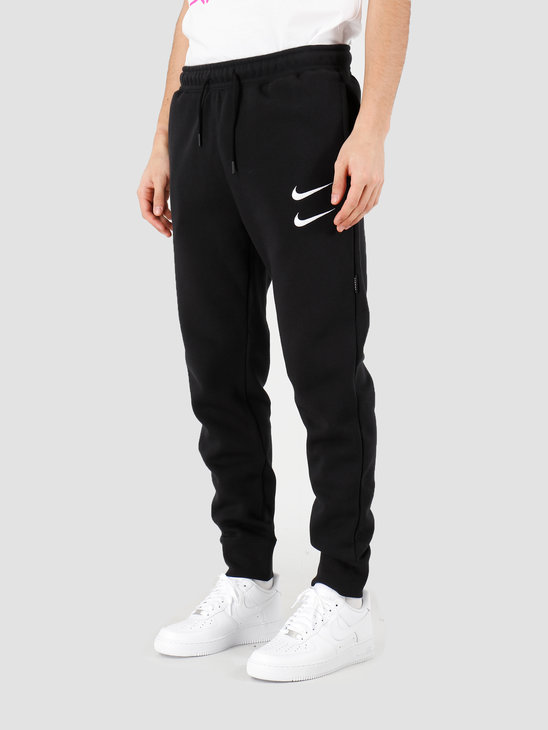 Nike NSW Swoosh Pant Bb Black White CJ4869-010