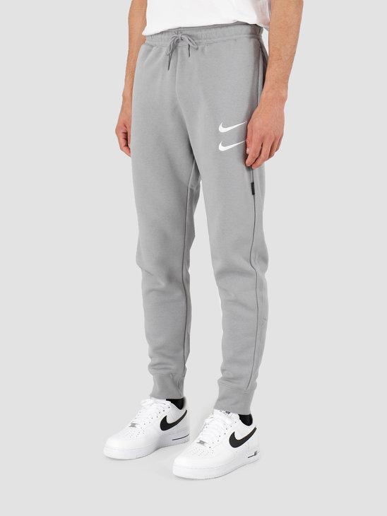 Nike NSW Swoosh Pant Bb Particle Grey White CJ4869-073