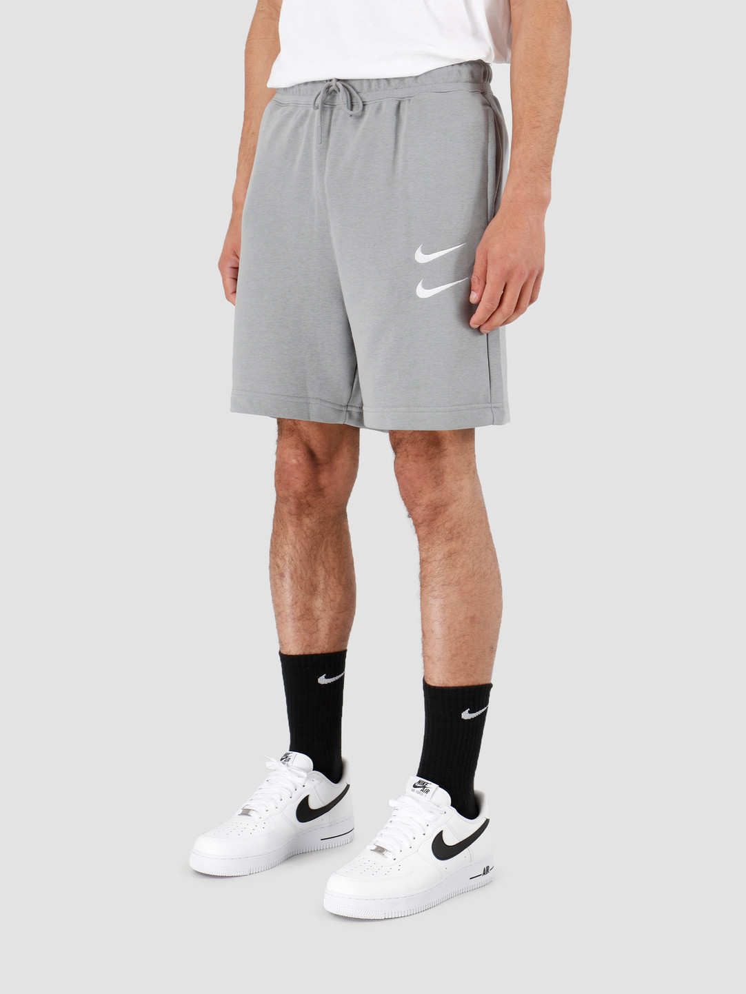 Nike Nike NSW Swoosh Short Ft Particle Grey White CJ4882-073