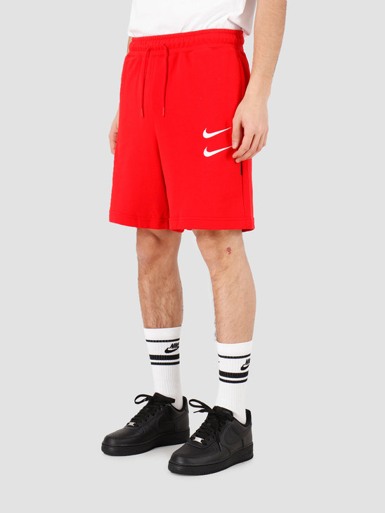 Nike NSW Swoosh Short Ft University Red White CJ4882-657
