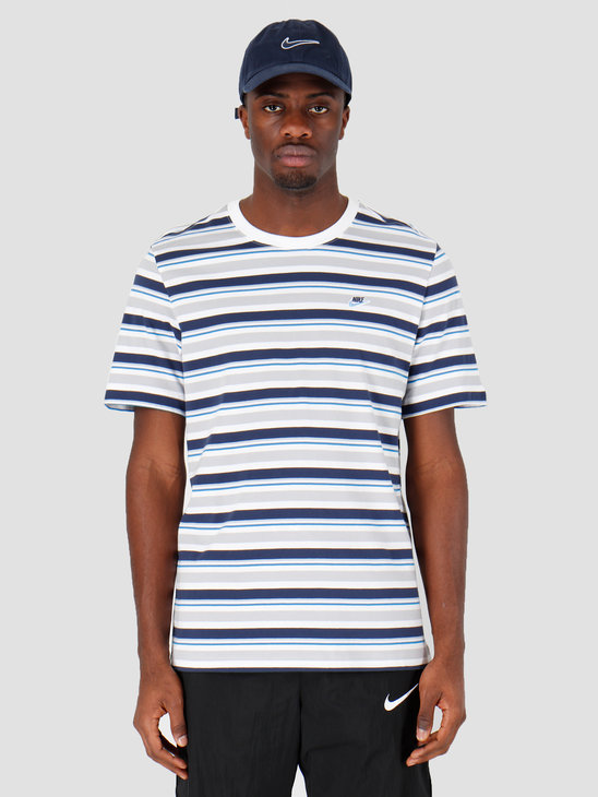 Nike NSW T-shirt Stripe White CK2702-100