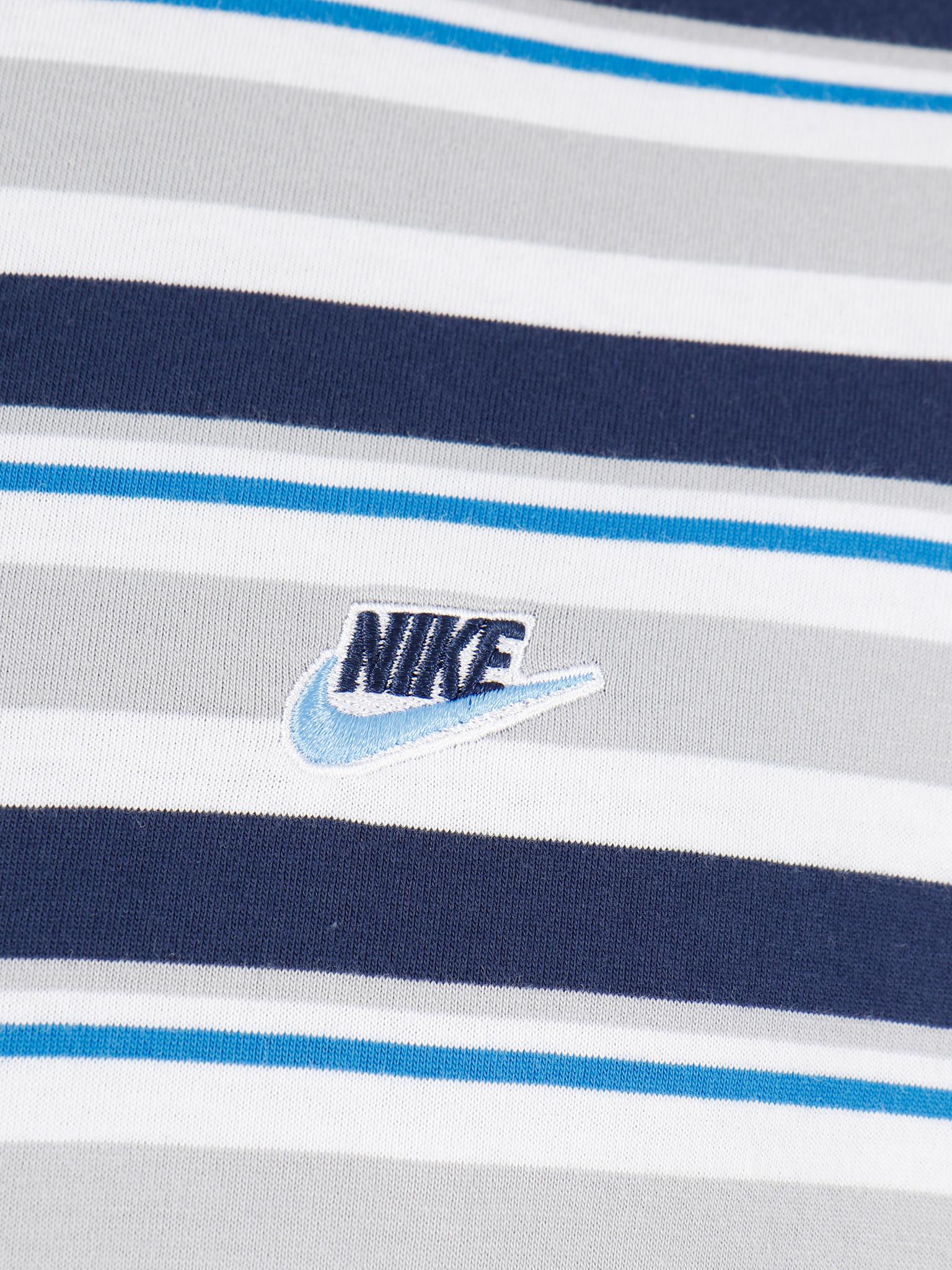 Nike Nike NSW T-shirt Stripe White CK2702-100