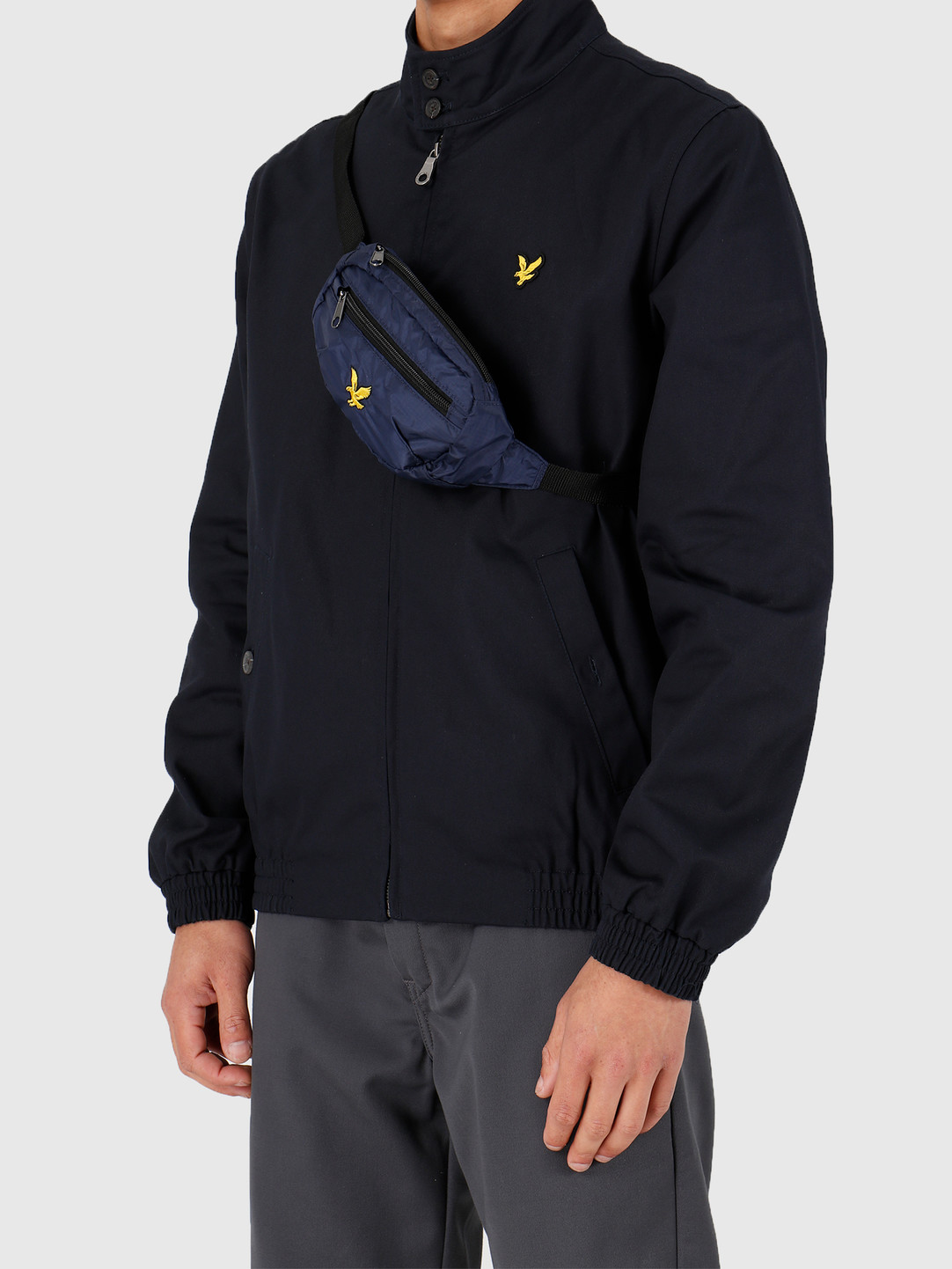 Lyle and Scott Lyle and Scott Ripstop Utility Bag Z99 Navy BA1215A