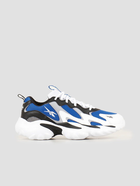 Reebok Dmx Series 1000 White Black Humble Blue EF7652