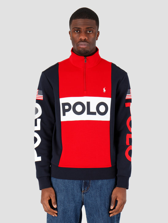 Polo Ralph Lauren Lshzm2 Longsleeve Knit Red 710781437001