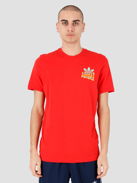 adidas Multi Fade Sp T-Shirt Lush Red FM3380
