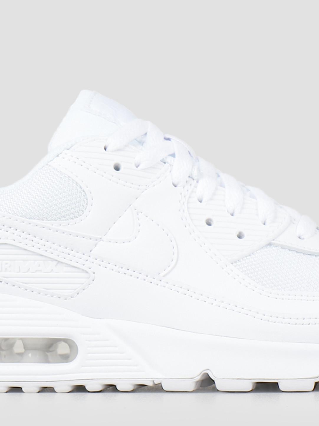 Nike Nike Air Max 90 White White White Wolf Grey CN8490-100