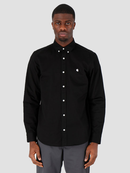 Carhartt WIP Madison Shirt Black White I023339-8991