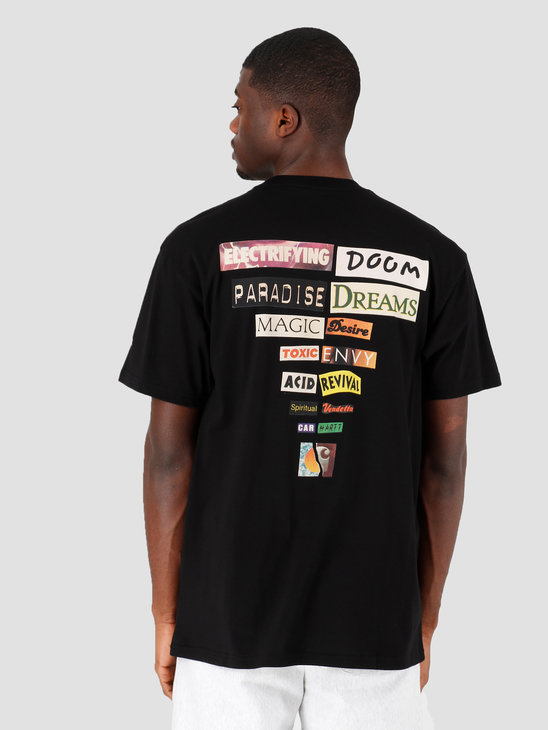 Carhartt WIP Backpages T-Shirt Black I027757-8900