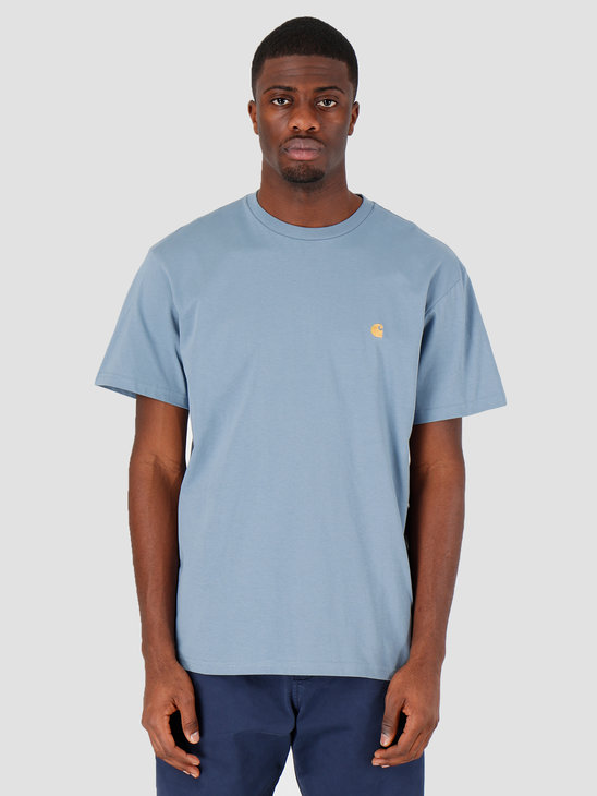 Carhartt WIP Chase T-Shirt Mossa Gold I026391-08S90