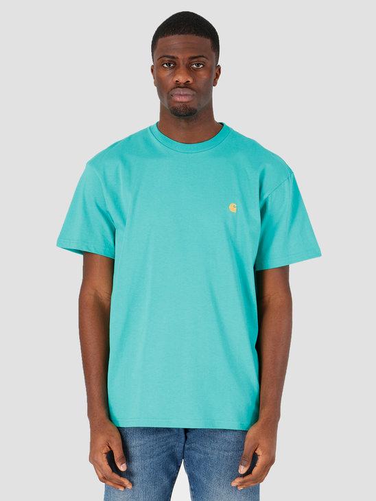 Carhartt WIP Chase T-Shirt Yoda Gold I026391-09A90