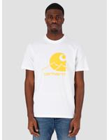 Carhartt WIP Carhartt WIP Outdoor C T-Shirt White Pop Orange I027751-290