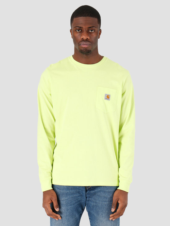 Carhartt WIP Pocket T-Shirt Lime I022094-09E00