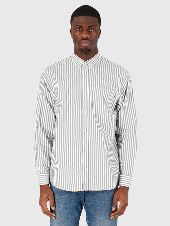 Carhartt WIP Simon Shirt Simon Stripe Black I027500-8990