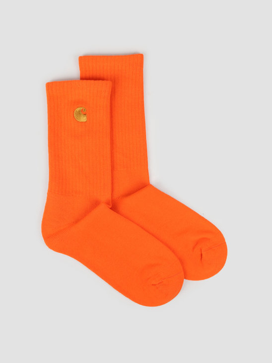 Carhartt WIP Chase Socks Clockwork Gold I026527-08O90