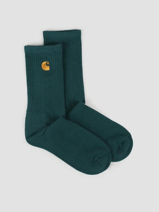 Carhartt WIP Chase Socks Treehouse Gold I026527-08Z90