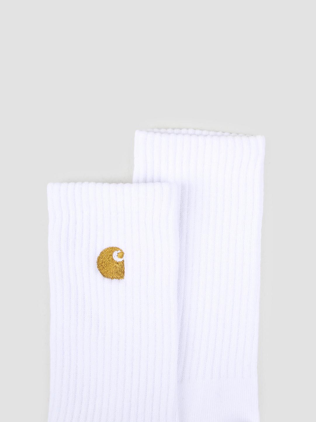 Carhartt WIP Carhartt WIP Chase Socks White Gold