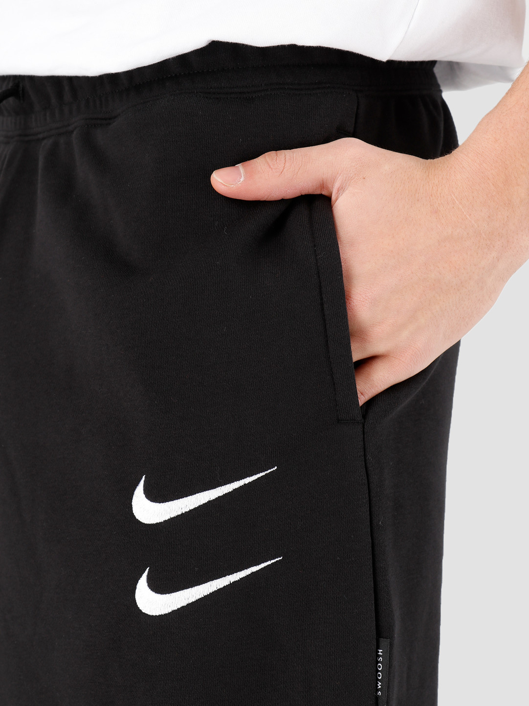 Nike Nike NSW Swoosh Short Ft Black White CJ4882-010