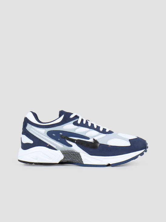 Nike Air Ghost Racer Midnight Navy Black Wolf Grey White AT5410-400