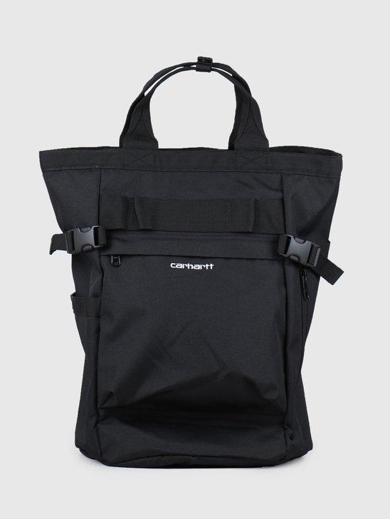 Carhartt WIP Payton Carrier Backpack Blac K White I026199