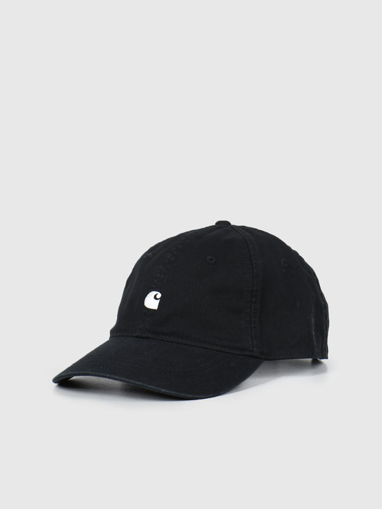 Carhartt WIP Madison Logo Cap Black Wax  I023750-8991
