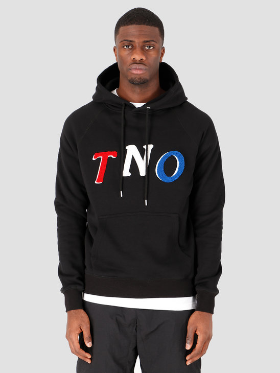 The New Originals TNO Fabric Hoodie Black Pink
