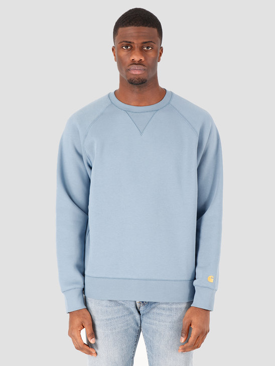 Carhartt WIP Chase Sweat Mossa Gold I026383-08S90